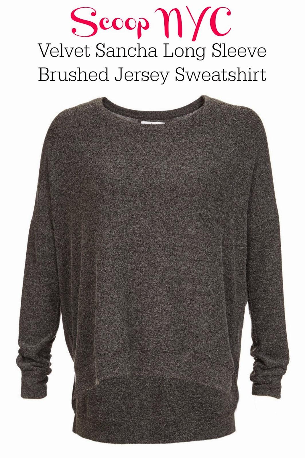 Velvet Sancha sweatshirt