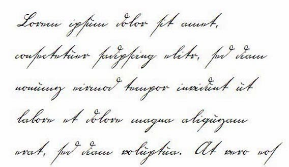 Handwriting Fonts Free