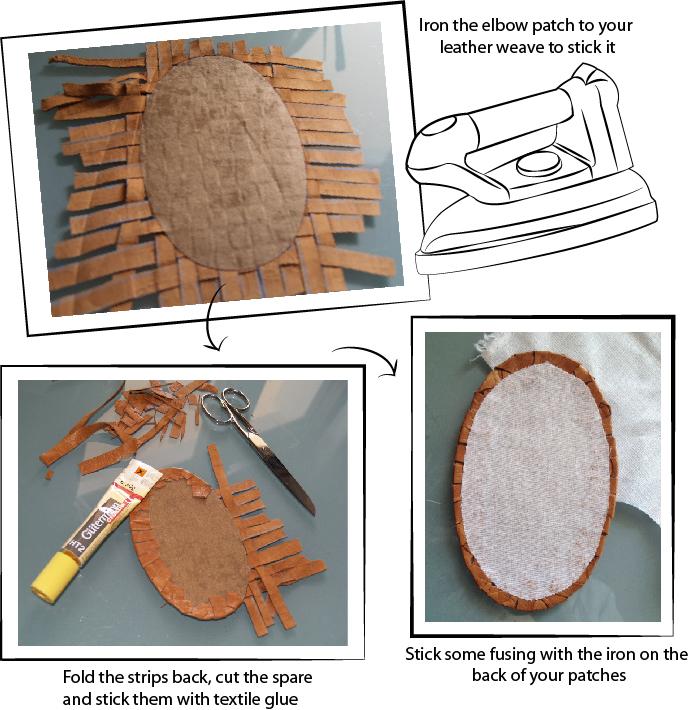Заплатки локти как сделать