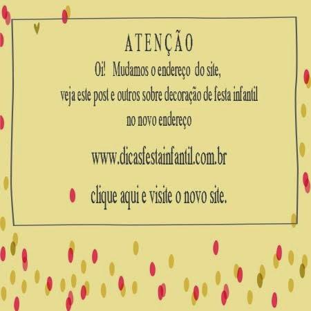 site dicas festa infantil - tema decoração festa infantil circo