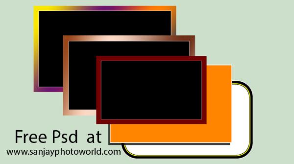 Sanjay Photo World: Psd Frames for Adobe Photoshop (Karizma album)