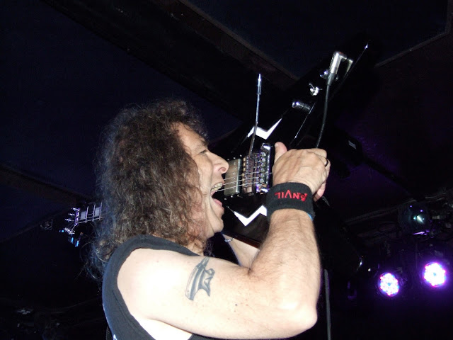 Anvil - Live Photos from 'Hope in Hell' Release Party @ Knitting Factory, Brooklyn, NY 5-30-13