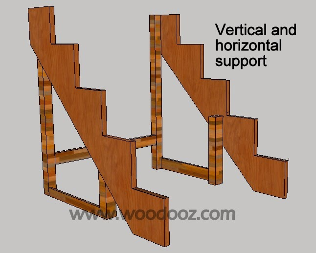 Vertical and horizontal support