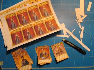 Fabrication du jeu de cartes Love Letter