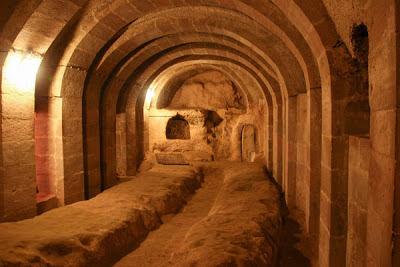 Ciudad subterranea Capadocia - Viaje a Turquia