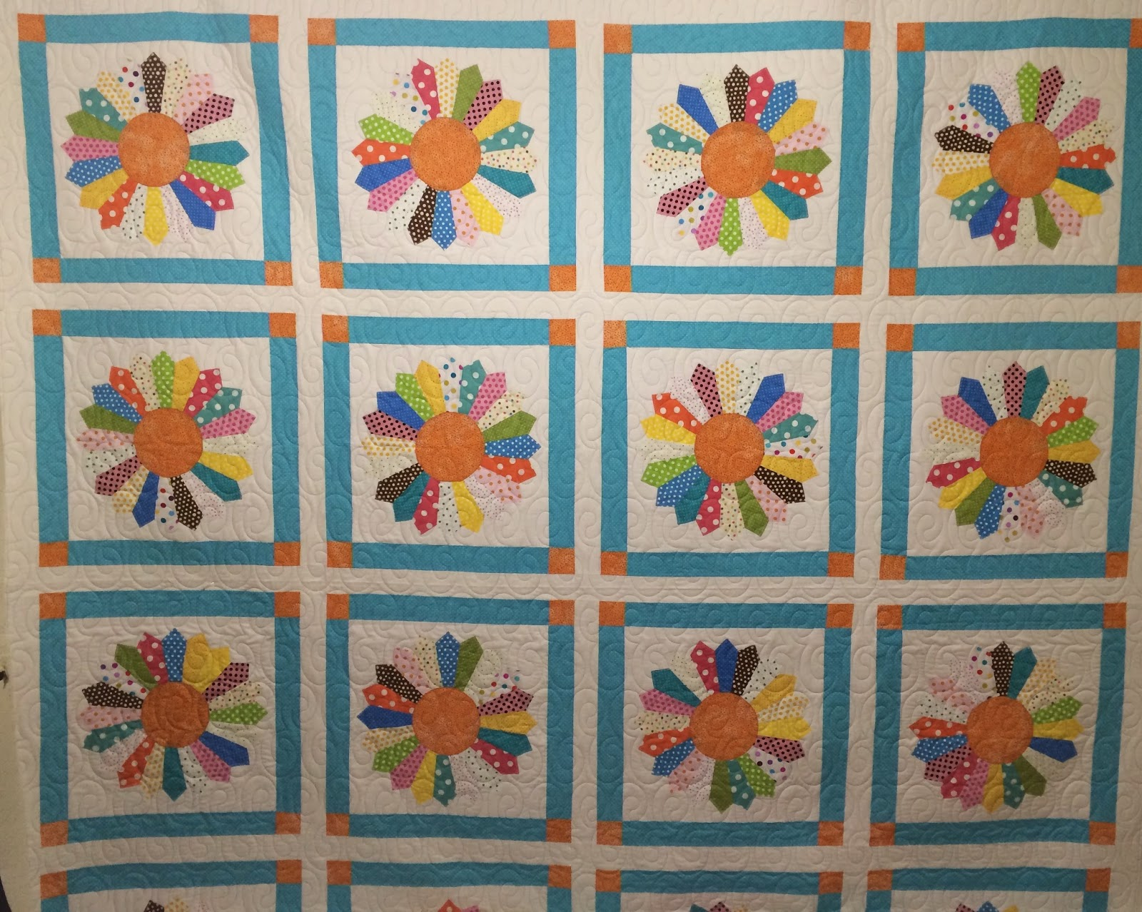 Nancy Thornton's Dresden Plate Quilt