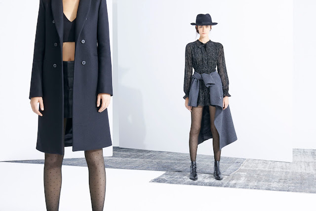 THIN TIGHTS  TREND ALERT ZARA LOOKBOOK
