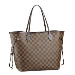 Louis Vuitton Neverful Damier Replica bag sold at Sheer Beauty Bare Minerals