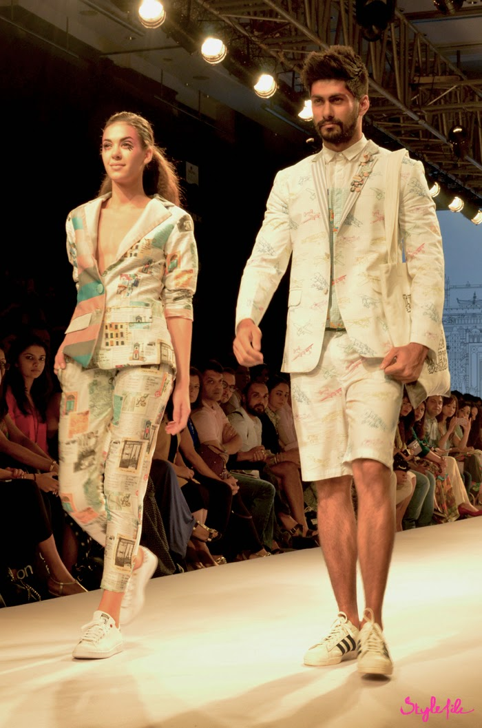 Lakme Fashion Week, LFW, Fashion Week, adidas, designer, model, sneakers, prints, travel, namit khanna, quirkbox, pastel, suits, menswear