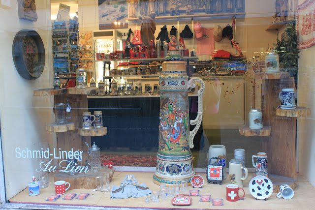 Swiss souvenirs at the city of Lucerne, Lucerne, Switzerland