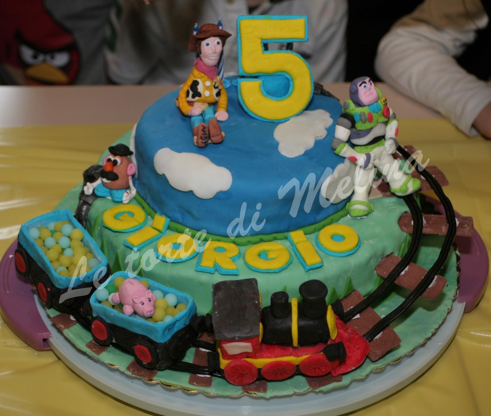 Molto Le torte di Melina: Torte di compleanno per bambini ZQ63
