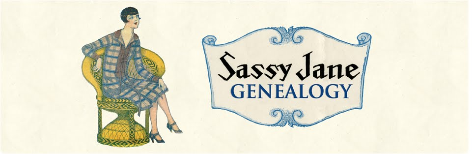 Sassy Jane Genealogy Blog: Archives and Family History
