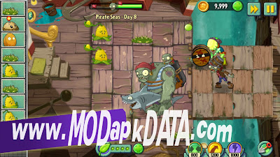 Plants vs zombies 2 v1.7.2 mod apk + datafiles