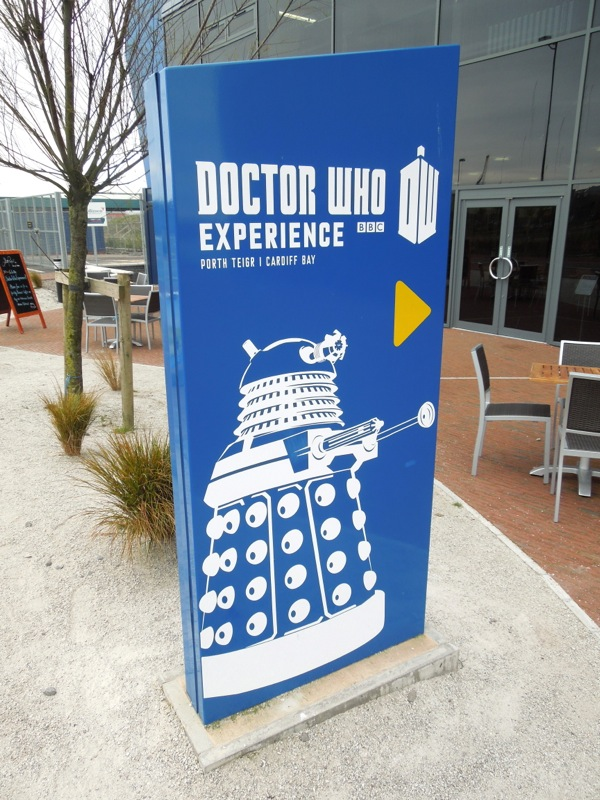 Doctor Who Experience Dalek sign