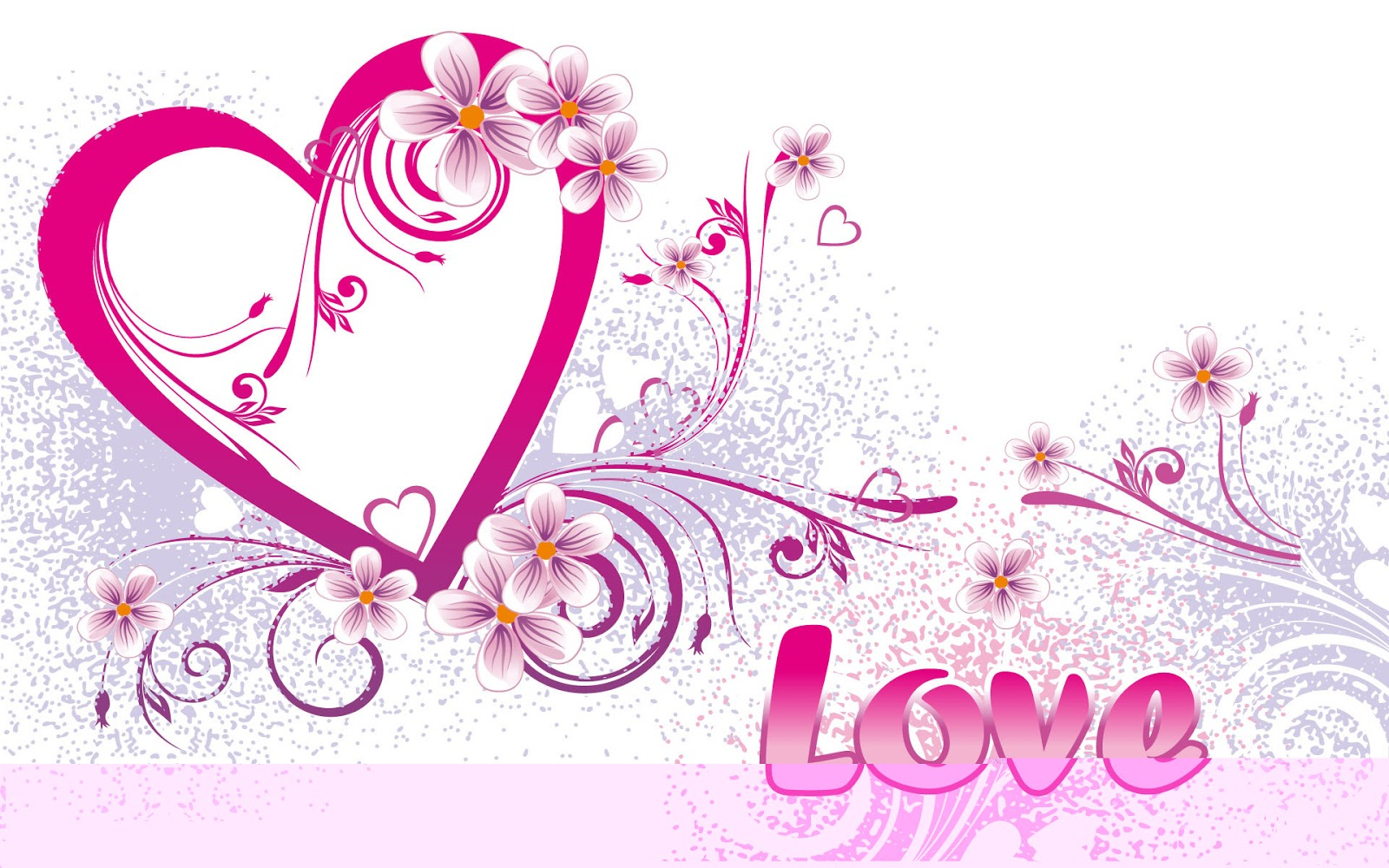 wallpaper backgrounds: cute heart and love wallpapers with different