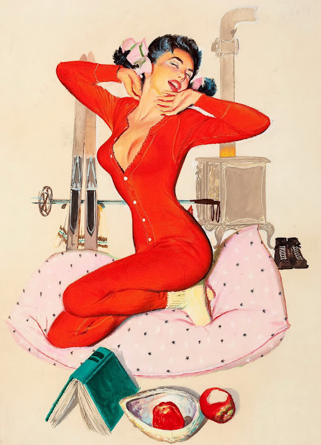 Pin Up Girl by Arnold Kohn