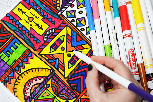 alisaburke: kids markers- tips and tricks for adults