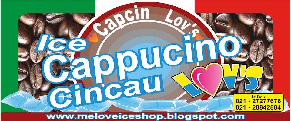 ice cappucino cincau lov's