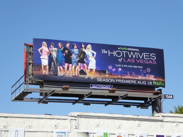 Hot Wives of Las Vegas billboard