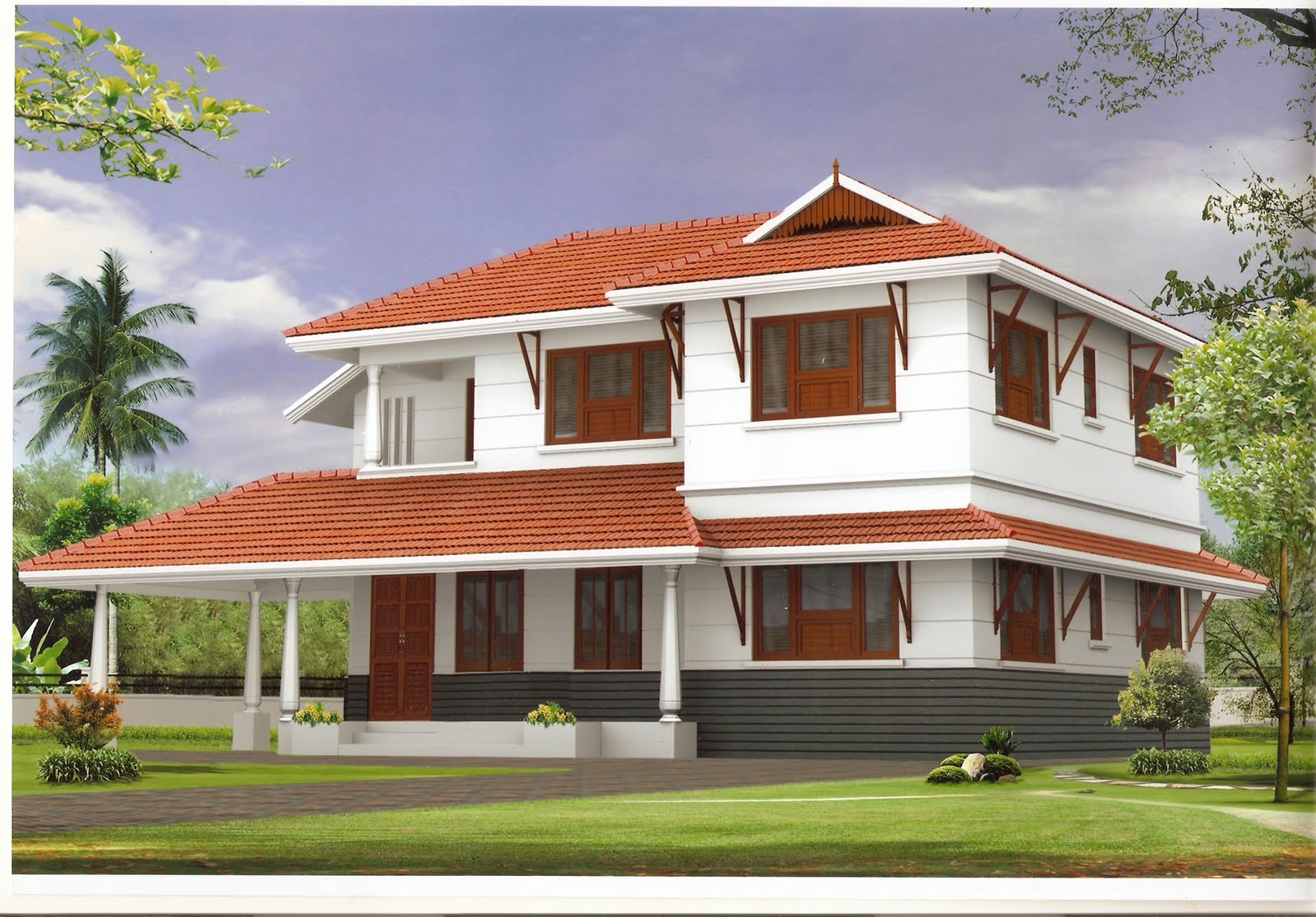 Beautiful house design plans home designer for Pretty house plans