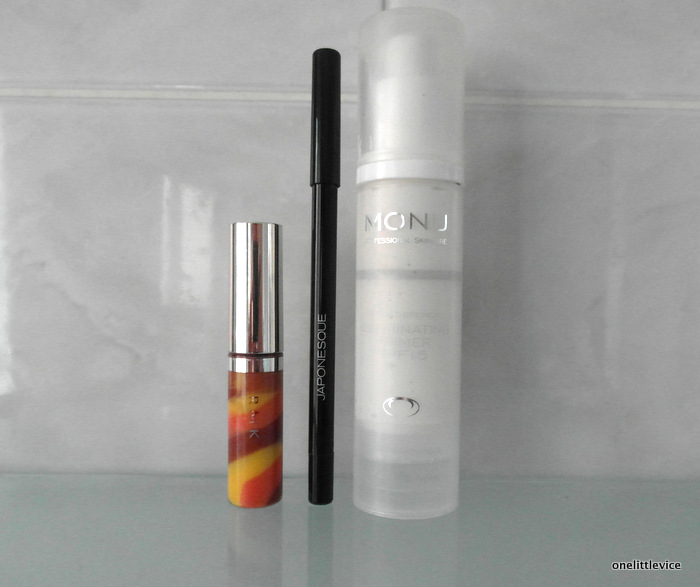 One Little Vice Beauty Blog: RMK Vintage Drop Gloss Japonesque Eye Defining Pencil Monu Illuminating Primer review