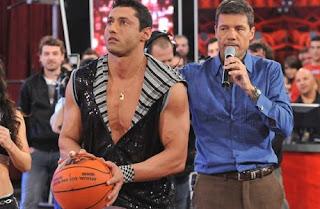 Tito Speranza le ganó en el básquet a Marcelo Tinelli