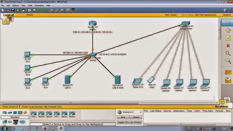how to use cisco packet tracer software