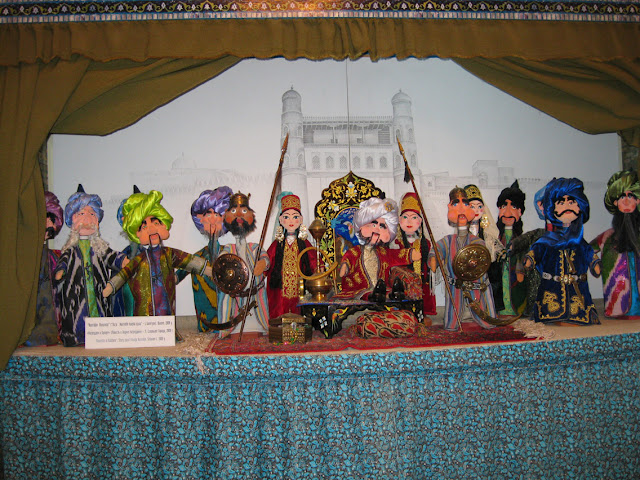 Uzbekistán, Bukhara - Tienda de marionetas