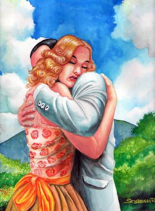 O bom e velho abraço ainda é um santo remédio.