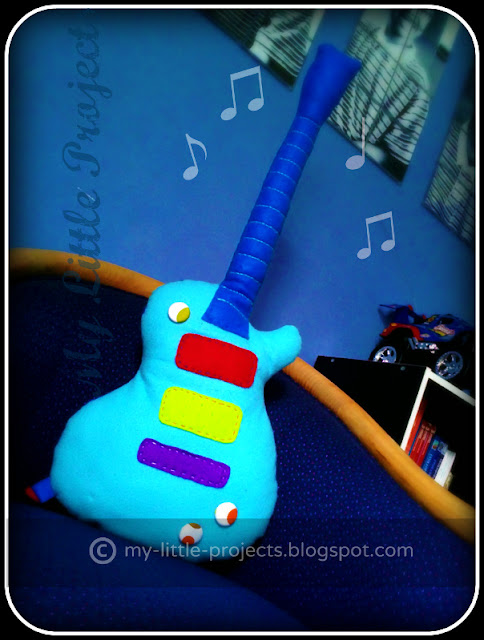 Felt guitar