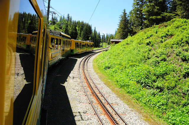 jungfrau, train