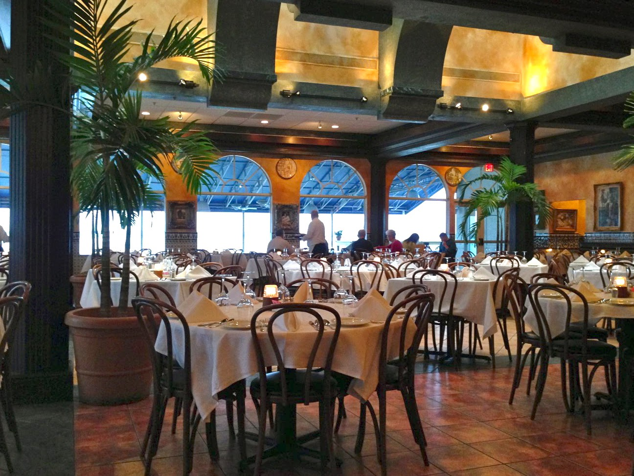 Inside the Columbia Restaurant in Clearwater, Florida