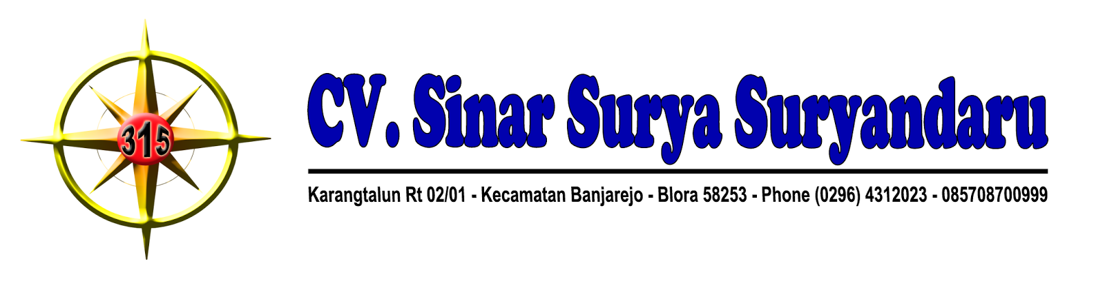 CV. SINAR SURYA SURYANDARU