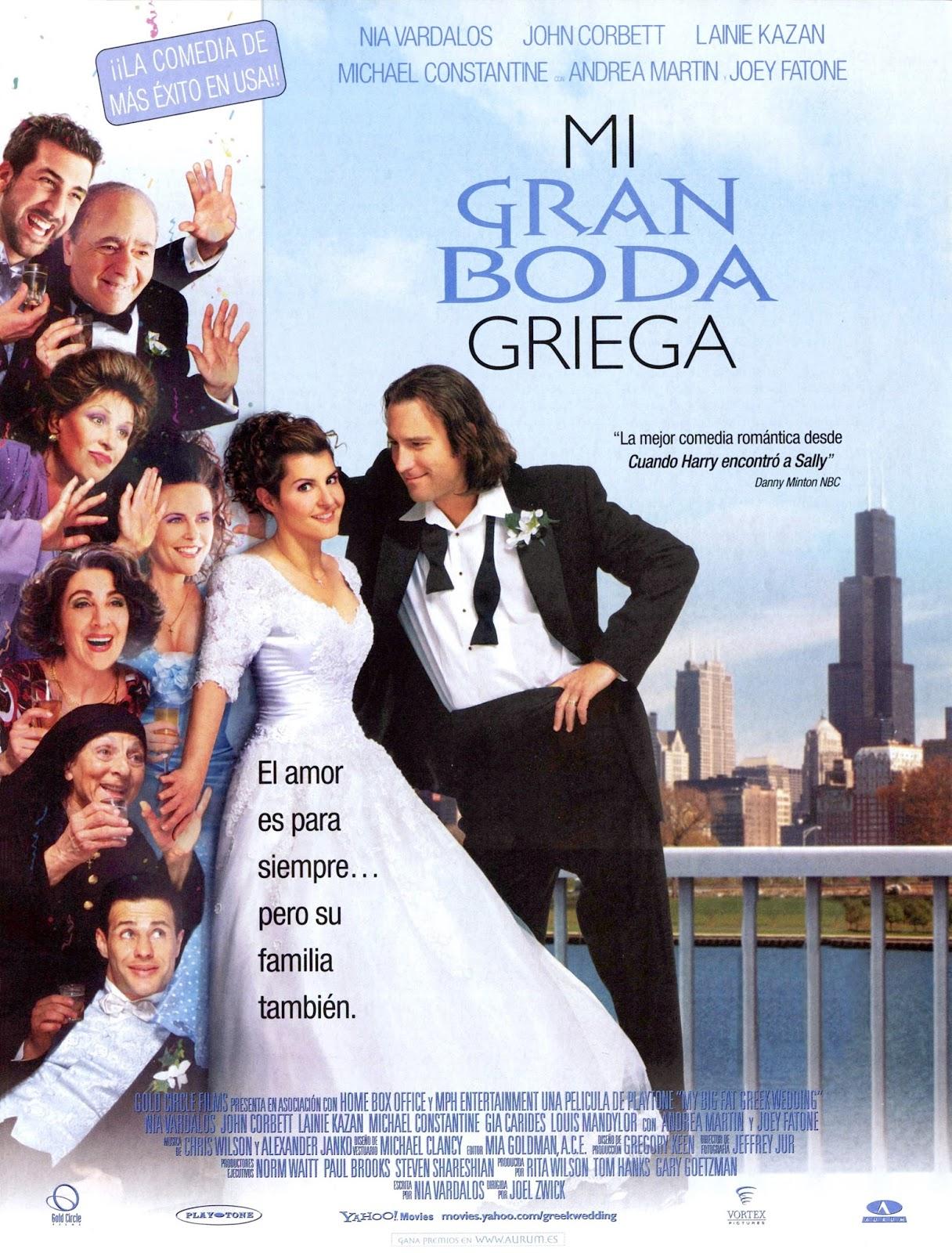 Citas de Mi gran boda griega