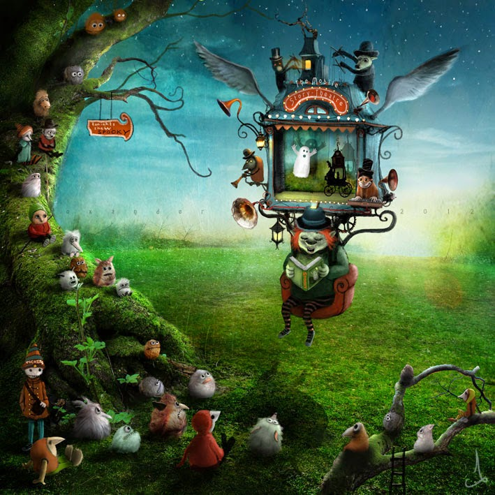 24-Alexander-Jansson-Fairy-tale-Worlds-in-Surreal-Paintings-www-designstack-co