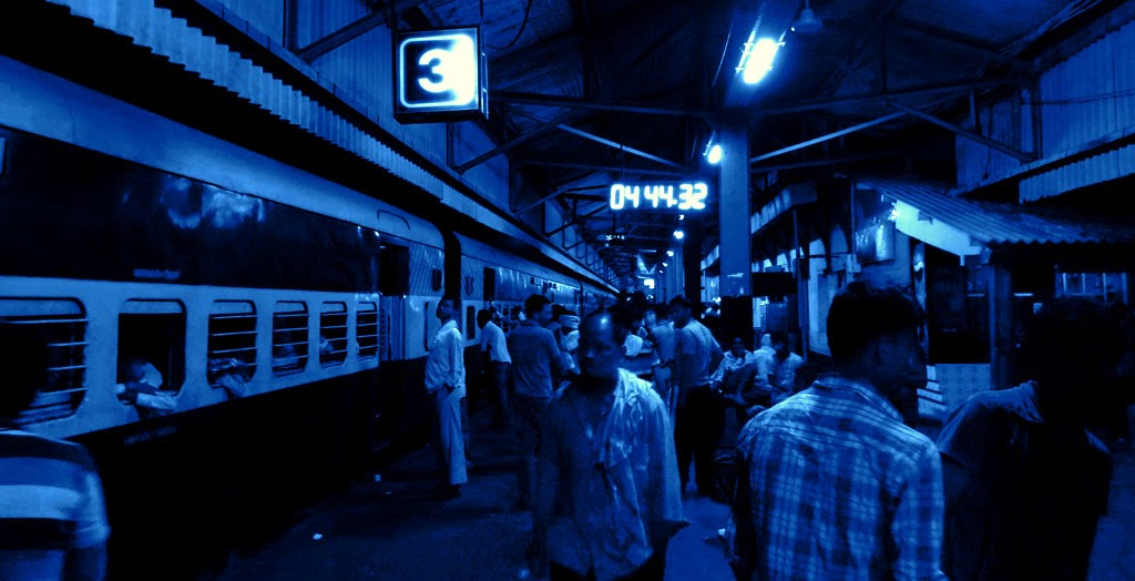 Igatpuri station night