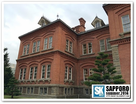 Sapporo Japan - Another close up of the Former Hokkaido Government Office building