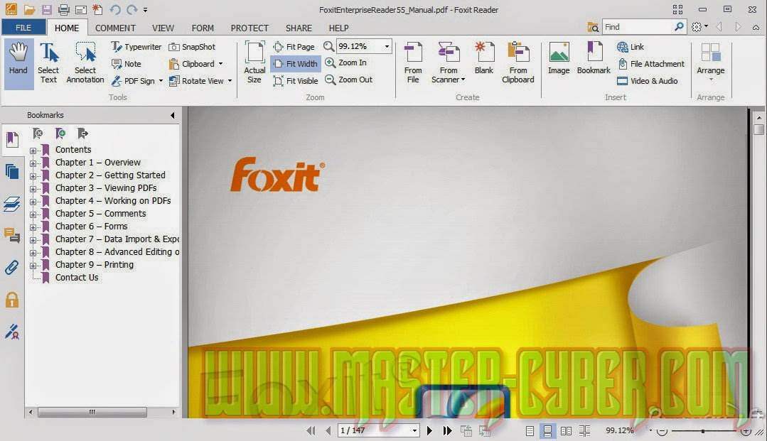 Foxit Reader 6.2.0.0429 PDF Viewer untuk Membuka File PDF