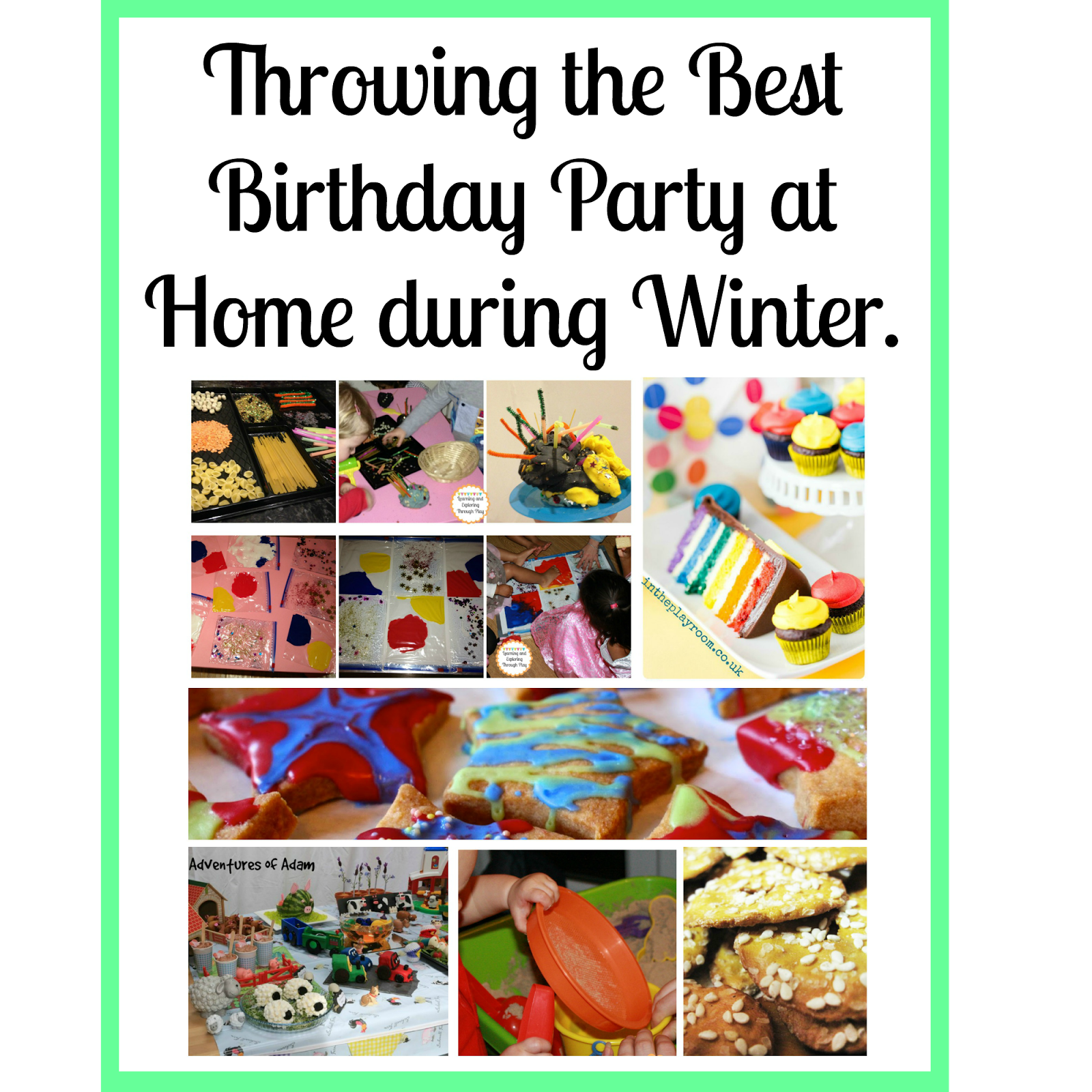 Learning And Exploring Through Play: Throwing The Best Birthday Party At Home During Winter