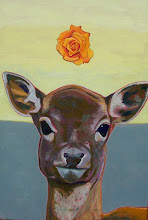 Deer With Flower 4