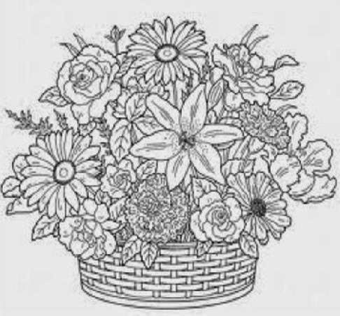 Difficult Coloring Pages for Adults SomeBody Free