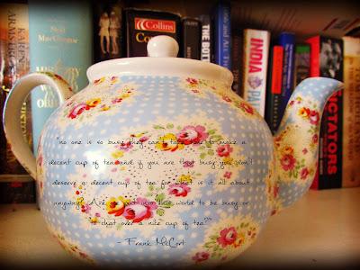 book and a cuppa, bookandacuppa, book&cuppa, Book & a Cuppa, teapost, quite, Frank McCort, Tis, bookshelf, pretty, photo, photography