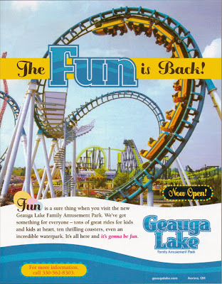 analysis on six flags commercial As a kid, nothing got us excited quite like a six flags commercial — the venga  boys music, the excitement, the party bus, the old man who.