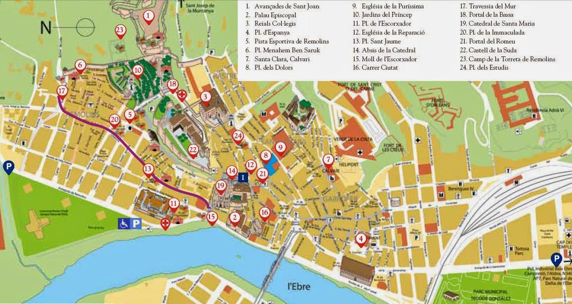 Mapa de tortosa my blog - Libreria desnivel barcelona ...