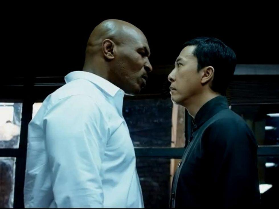Donnie Yen Vs Mike Tyson