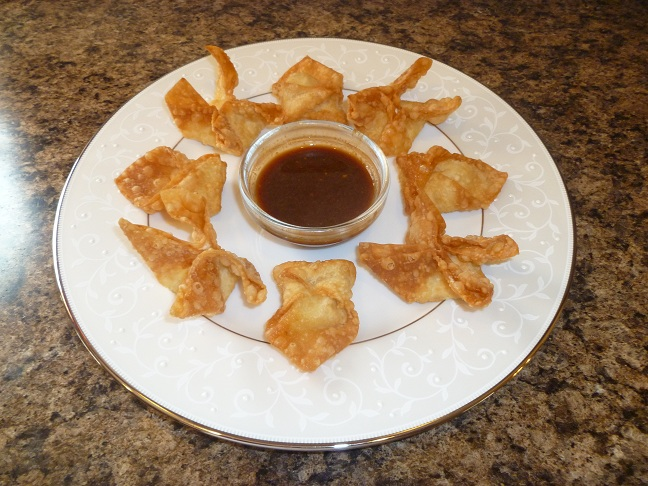 That Means We Get Pie Food Origami Cream Cheese Wontons Crab