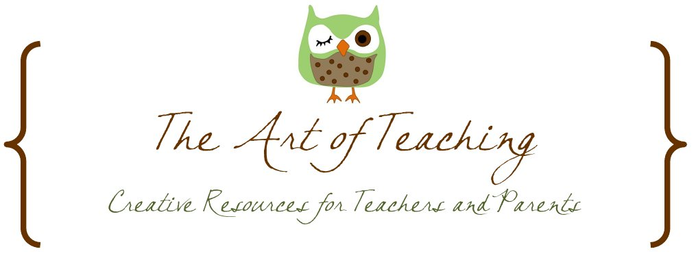 The Art of Teaching: A Kindergarten Blog