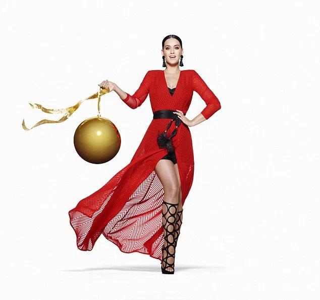 Mira la campaña navideña de Katy Perry para H&M