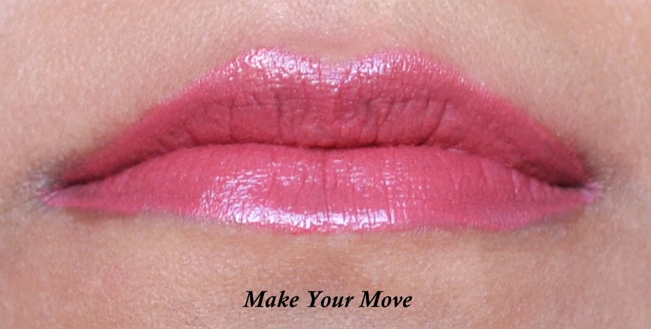 Rimmel Provocalips 16hr Kissproof Lip Colour in Make Your Move Swatch - Aspiring Londoner