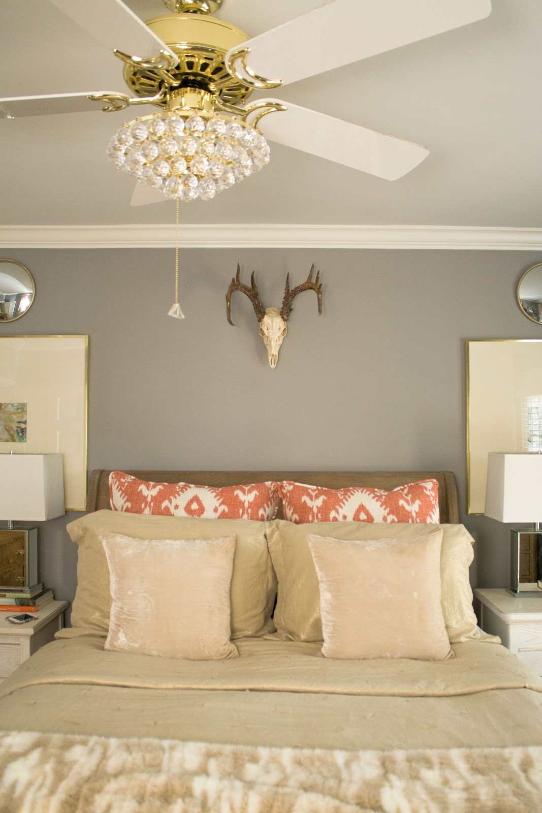 the good stuff: B&A: master bedroom